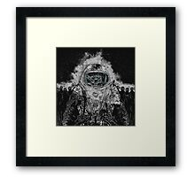 LOST IN MARS Framed Print