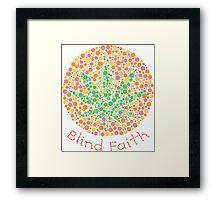 Blind faith Framed Print