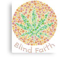 Blind faith Canvas Print