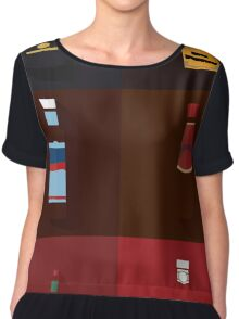Sauce Spectrum Women's Chiffon Top