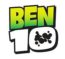 Ben Ten Logo Photographic Print