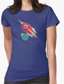 Rocket on the go Womens Fitted T-Shirt