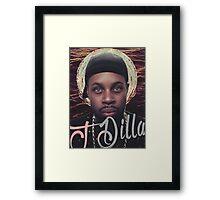 J Dilla - Jmadera print Framed Print