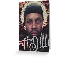 J Dilla - Jmadera print Greeting Card