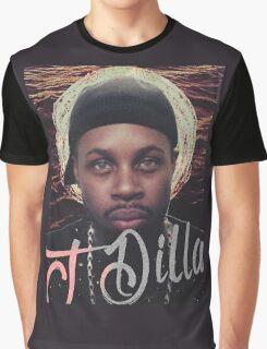 J Dilla - Jmadera print Graphic T-Shirt
