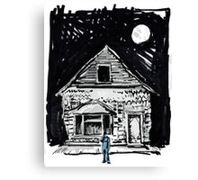 Buster Keaton One Week Canvas Print