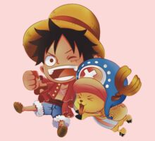 chopper n luffy Baby Tee