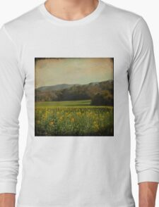 Once Upon a Time a Field of Flowers Long Sleeve T-Shirt