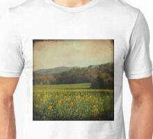 Once Upon a Time a Field of Flowers Unisex T-Shirt
