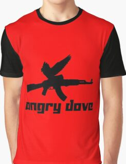 Angry Dove Graphic T-Shirt