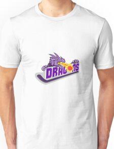 Dragon Fire Puck Hockey Stick Retro Unisex T-Shirt