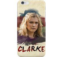 Clarke - The 100 - Brush iPhone Case/Skin