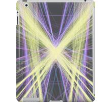Linify Yellow butterfly iPad Case/Skin