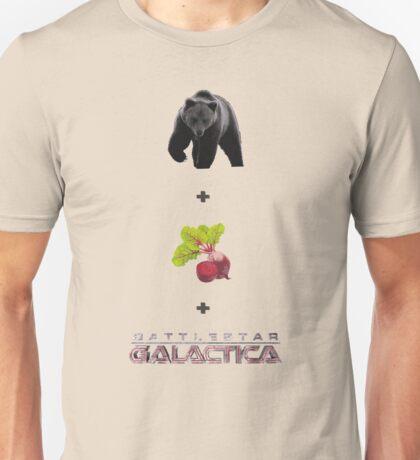 Baers + Beets + Battlestar Galactica (Colour) Unisex T-Shirt
