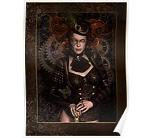 Lady Steampunk Poster