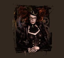 Lady Steampunk Womens Fitted T-Shirt