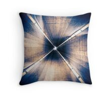 City Portal  - Tunnel to Another Dimension Throw Pillow