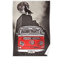 VW WOLF Poster