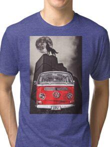 VW WOLF Tri-blend T-Shirt