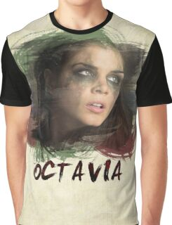 Octavia - The 100 - Brush Graphic T-Shirt
