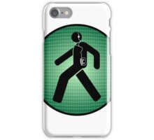 Walk(man) iPhone Case/Skin