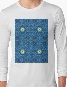 Four Point Blue Long Sleeve T-Shirt