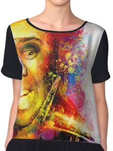 Satchmo Louis Armstrong Chiffon Top