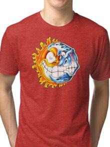 moon sun Tri-blend T-Shirt