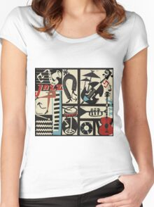 the jazz rythm (full version) Women's Fitted Scoop T-Shirt