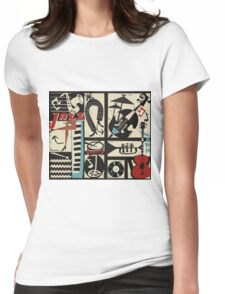 the jazz rythm (full version) Womens Fitted T-Shirt