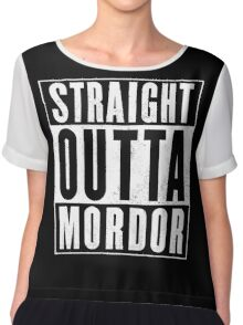 Lord of the rings - Mordor Chiffon Top