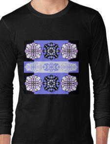 Marvellous Mauve Mirrorart Long Sleeve T-Shirt