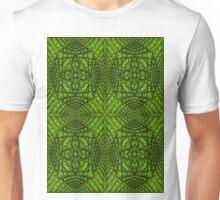 Green Rattan Squared Unisex T-Shirt