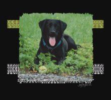 Loki - Black Labrador One Piece - Short Sleeve
