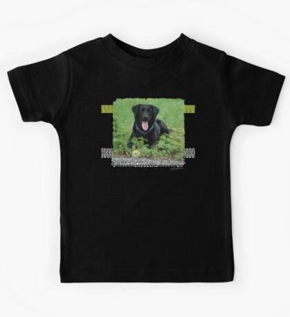 Loki - Black Labrador Kids Tee