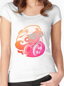 J Dilla - Retro 2 Women's Fitted Scoop T-Shirt