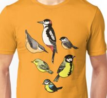Six little birds Unisex T-Shirt