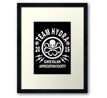 Team Hydra Super Villain Appreciation Society Framed Print