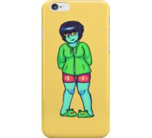 Frog Gal 2 iPhone Case/Skin