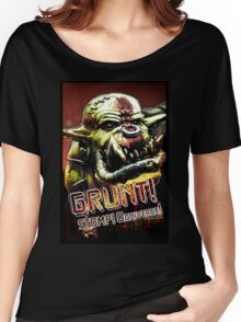 Stomp ooniverse! Eat da humies! Women's Relaxed Fit T-Shirt