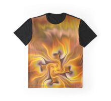 Fractal flower sketch 3 - a hint of autumn Graphic T-Shirt