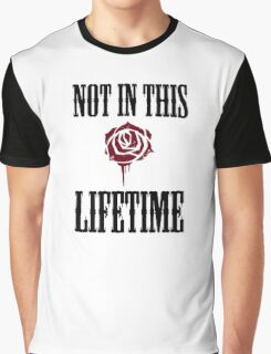 Not in this lifetime Axl and Slash reunion. Classic Guns n´roses Graphic T-Shirt