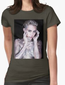 Miley Cyrus By Photographer Rankin Womens Fitted T-Shirt