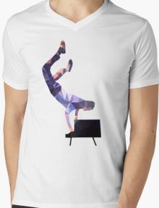 Paul Meany Handstand Mens V-Neck T-Shirt