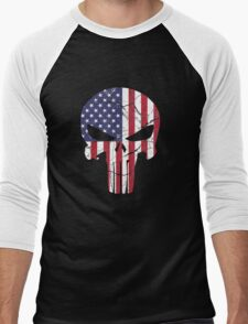 Punisher Men's Baseball ¾ T-Shirt