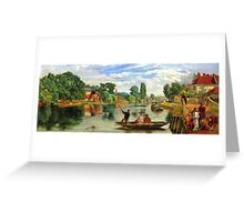 William Henry Knight - On the Thames Greeting Card