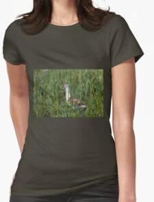 From A Safe Place  Womens Fitted T-Shirt