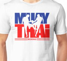 Muay Thay Boxing Logo Thailand Martial Art  Unisex T-Shirt