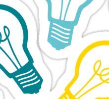 Lightbulb Idea Pattern Sticker