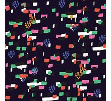 Confetti - Navy Photographic Print